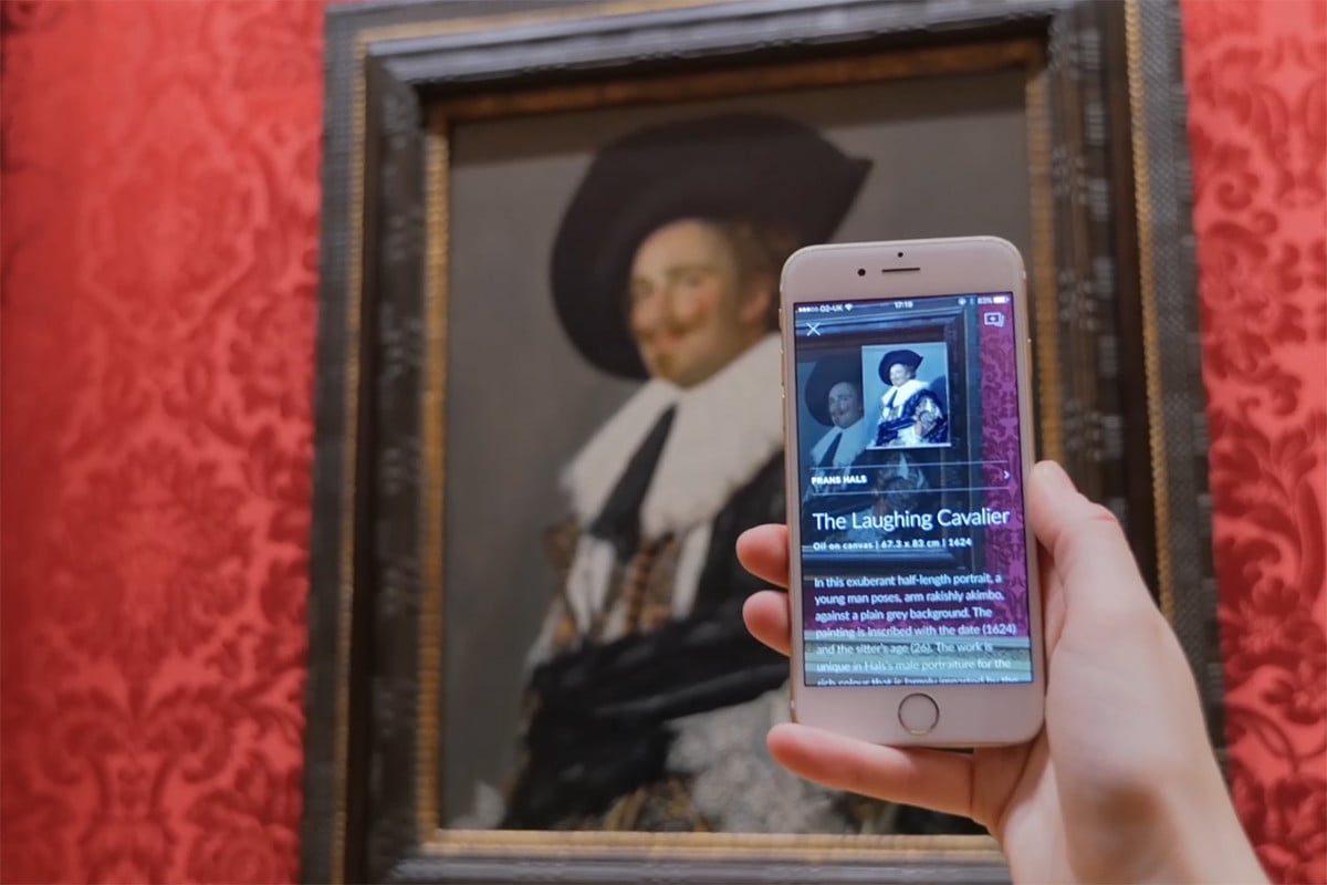 Новое приложение SMARTIFY для распознавания картин